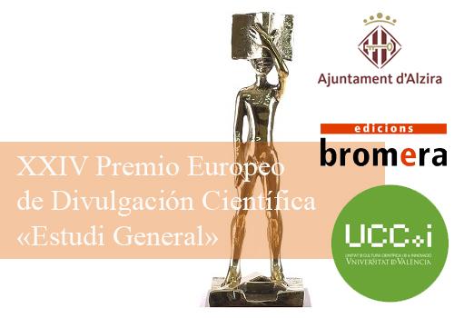 Convocado el XXIV Premio Europeo de Divulgación Científica «Estudi General»