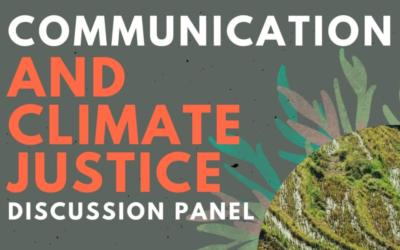 Mesa redonda online: Comunicación y Justicia Climática