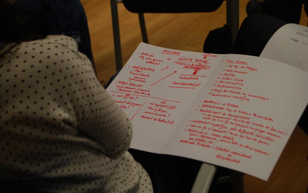 La genètica, el fracking i les vacunes: temes destacats al taller final NERRI