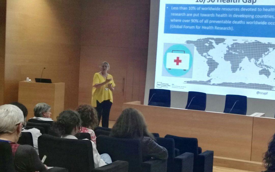Gema Revuelta impartió un curso sobre RRI en el Instituto de Investigación e Innovación Parc Taulí