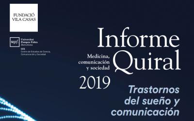 Informe Quiral 2019: Trastornos del sueño y comunicación