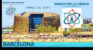 El 22 de abril, Marcha por la Ciencia en Barcelona
