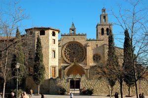 Monestir_de_Sant_Cugat_-_Vista_general