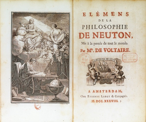 ¿Dónde está Émilie? Voltaire, Newton y un mensaje oculto (parte I)