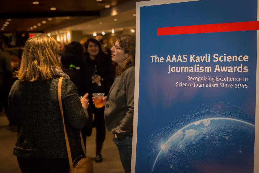 2018 AAAS Kavli Science Journalism Awards
