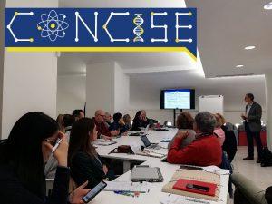 Gema Revuelta and Carolina Llorente participate in the kick-off of the CONCISE Project in Valencia