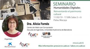 """Carolina Llorente moderarà la taula rodona """"Humanitats digitals"""""""