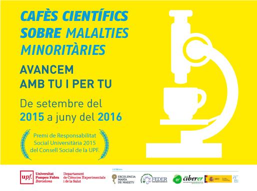 Primera sesión del ciclo de cafés científicos «Avanzamos contigo y por ti» sobre enfermedades raras