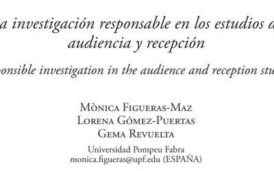 """Integrar el concepto de """"investigación e innovación responsables"""" en estudios de audiencia y recepción"""