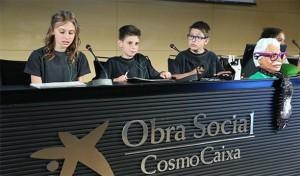 600 alumnes de primària presenten la recerca que han fet amb investigadors de Recercaixa