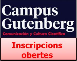Últims dies per inscriure's a la 6a edició del Campus Gutenberg!