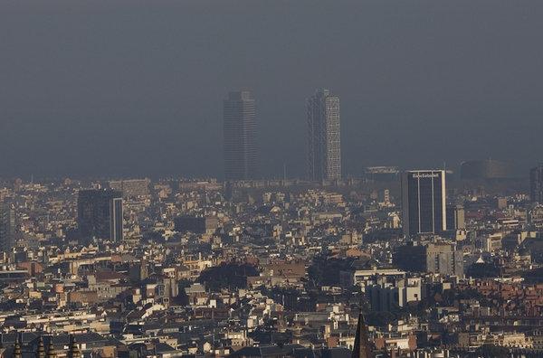 Contaminació a Barcelona (Font La Vanguardia)