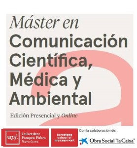 IV edition of the Online Master in Scientific, Medical and Environmental Communication