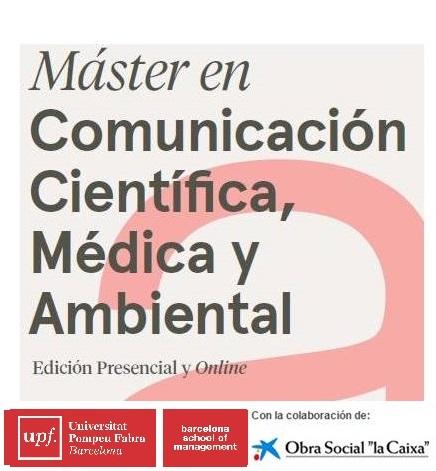Máster en Comunicación Científica, Médica y Ambiental