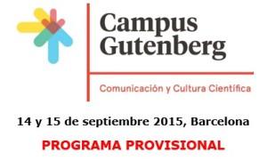 ¡El Campus Gutenberg ya tiene programa!