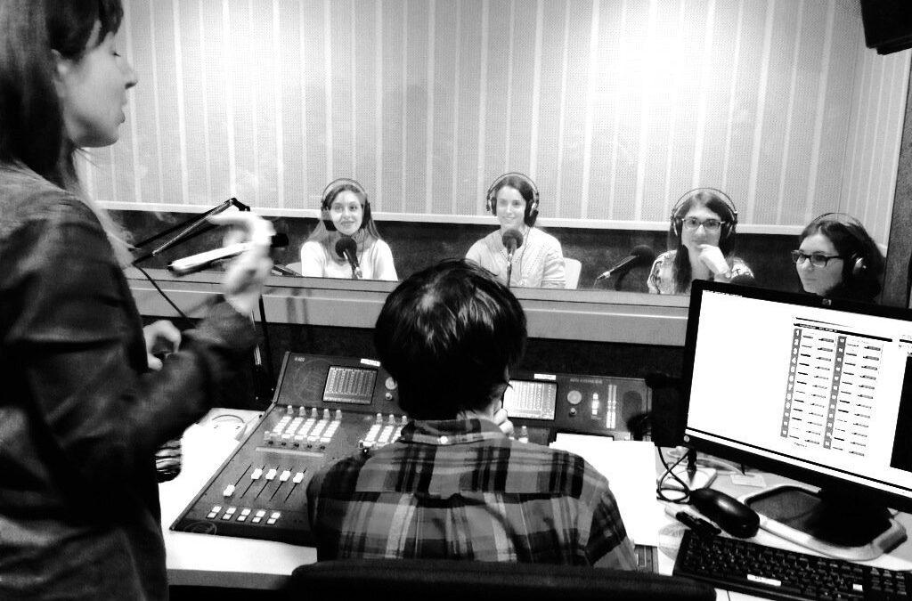 Informativo del taller de radio de los alumnos del Máster en Comunicación Científica