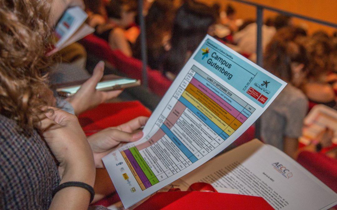 Comença la convocatòria de propostes per al X Campus Gutenberg-Cosmocaixa 2020 (aquest any online)